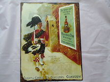 Large Plaque Scotch Guard Whisky Victorian Style Roderick Dhu/Whiskey/Pub/Bar