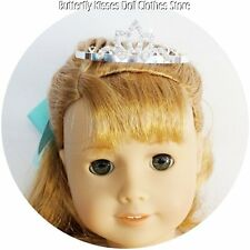 Rhinestone Tiara Crown Doll Clothes For 18 in American Girl Doll