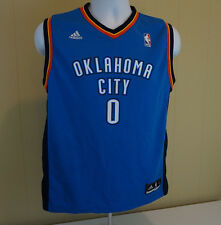 RUSSELL WESTBROOK OKLAHOMA CITY THUNDER NBA ADIDAS YOUTH LARGE JERSEY