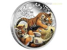 50 Cents The Cubs Baby Tiger Tuvalu 1/2 oz Silber 2016 PP