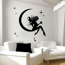 Wall Decals Fairy Decal Vinyl Sticker Bathroom Kitchen Bedroom Decor Art MN653