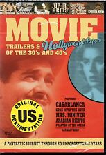 Movie Trailers & Hollywood Reports of the 30's and 40's DVD-Neu!