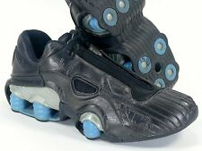 Nike Shox XT Sz 10.5 Black/Blue-Silver - original vintage 2001 bb4 r4 nz alpha
