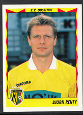 Panini Belgian Football 1999 Sticker - No 304 - K.V.Oostende - Bjorn Renty