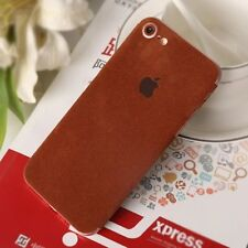 New Luxury Soft Ultrathin sticker Suede Back Case Cover Skin For iPhone 7 7 Plus