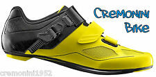 GIANT scarpe bici ciclismo uomo man nere gialle bike road shoes carbon PHASE 44