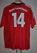 BAYER LEVERKUSEN GERMANY 2002 MATCH WORN ISSUE FOOTBALL SHIRT JERSEY TRIKOT #14