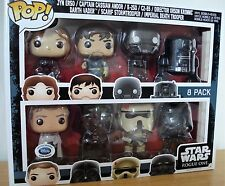 STAR WARS ROGUE uno Funko Pop 8 conf. Figure Set LTD ED 1/3000 PEZZI DISNEY NUOVO