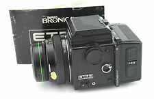 ZENZA BRONICA ETRS Film Camera with ZENZANON E II 1:2.8 F=75mm Lens (7127696).