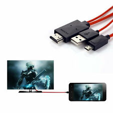 USB SlimPort to HDMI HD TV MHL Video Cable forgalaxy s5 s4 Google Nexus 4 5 E960