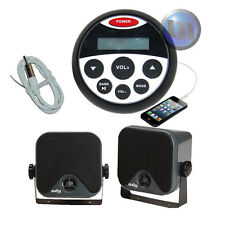 Marine Waterproof Audio Kit MP3/USB/AM/FM/Ipod NEW Latest Boat Stereo Compact
