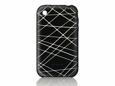 Belkin Silicone Sleeve Skin Case+Sreen for iPhone 3G 3Gs Black F8Z351 NEW