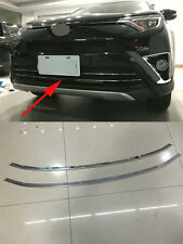 Steel Front Lower Grilles Molding Cover Trim for Toyota RAV4 2016 Decoration