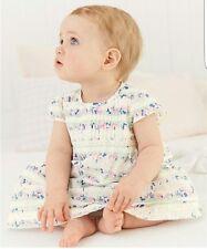 Vestido de verano bebé Niña Recién nacido próximo Floral hasta 3 MNTHS