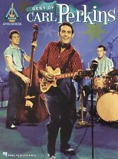 Carl Perkins The Best Of Learn to Play Rockabilly Guitar TAB Music Book