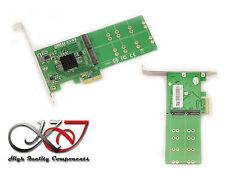 Carte Controleur PCIe pour SSD M.2 - 4 ports (pour SSD M2 type SATA) - MARVELL