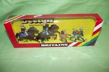 Britains Deetail 5 Piece  Metal Base 7th Cavalry Foot and Mounted (5) 1:32 MIB
