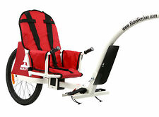 2016 Weehoo iGo Blast Tag Along Child Bicycle Trailer Bike Tow Cycling Mountain