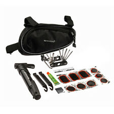 Roswheel Bicycle Repair Tools Bike Cycling Maintenance Kits Set with Pouch Pump