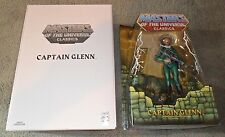 MOTUC,CAPTAIN GLENN,MASTERS OF UNIVERSE,CLASSICS,HE-MAN T5812 with box