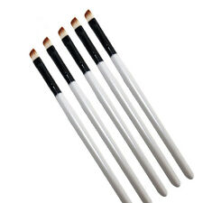 5Pc Professional Elite Angled Eyebrow Brush Nice Eye Liner Brow Makeup Tool