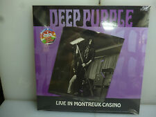 DEEP PURPLE-LIVE IN MONTREUX CASINO. SWITZERLAND 1969.-GREY VINYL LP-NEW.SEALED