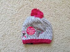New Era ATLANTA FALCONS Breast Cancer Awareness BCA Women Knit Beanie Hat