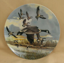 """Dominion China Ltd. """"The Landing"""" Display Plate from Canada"""
