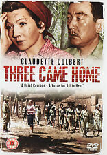 THREE CAME HOME -  A QUIET COURAGE A VOICE FOR ALL TO HEAR Claudette Colbert