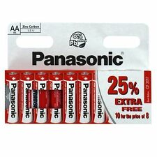10 pack Panasonic AA Batteries