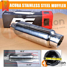 Acura Audi Dc Sports Stainless Steel Muffler Exhaust Universal WD Type