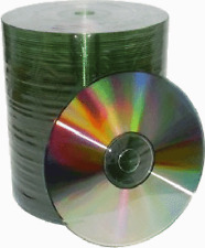 500 Grade A 52X Shiny Silver Top Blank CD-R CDR Disc Media 700MB