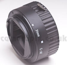31mm AF Autofocus Automatic Macro Extension Tube ring for CANON EOS EF EFS fit