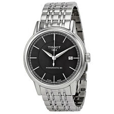 Tissot T Classic Powermatic Automatic Black Dial Stainless Steel Mens Watch
