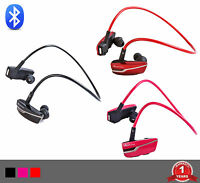 Active on the Go Wireless Bluetooth Headset Earphones w/Mic & Playback Controls