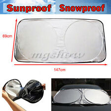 Folding Car Sunshade SUV Front Window Sun Shade Visor Windshield Block Cover NEW