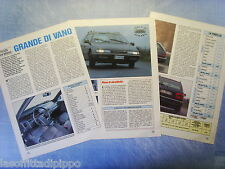 QUATTROR992-PROVA SU STRADA/ROAD TEST-1992- CITROEN XM BREAK -3 fogli
