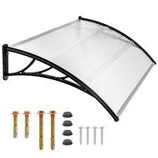 Auvent de porte store marquise solaire abri banne entrée ombre protection 150cm