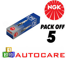 NGK LPG (GAS) Spark Plug set - 5 Pack - Part Number: LPG1 No. 1496 5pk