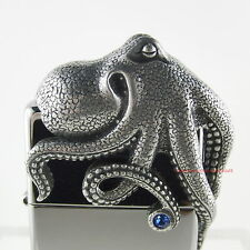 ZIPPO OCTOPUS 3D Limited Edition 0431 / 2500 in tollem Acryl Würfel!! NEU OVP