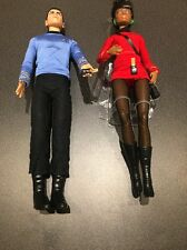Barbie Star Trek 50th Anniversary Dolls: Mr Spock & Uhura Doll (No Box)