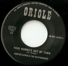 "CARTER-LEWIS & THE SOUTHERNERS MOMMA`S OUT OF TOWN 7"" 1963 JIMMY PAGE BEAT MOD"