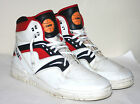 Vintage 1980s -1990s Trax High Top T495 Basketball Shoes Mens Size 11 Bi-way