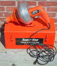 General Pipe Cleaners Super-Vee Power Drain Cleaner (Model: 6355-GWS) *No Ship*