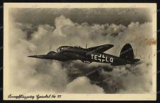 Foto-AK-Heinkel-He-111-Kampfflugzeug-Flugzeug-Airplane-2.WK-Luftwaffe-1