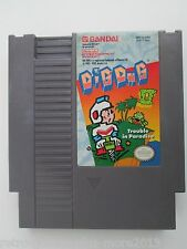 Dig Dug II: Trouble in Paradise (Nintendo NES, 1989) Game Only--Tested (NTSC)