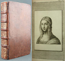 LEONARD DE VINCI - TRAITE DE LA PEINTURE - GIFFART 1716 - 33/33 GRAVURES POUSSIN