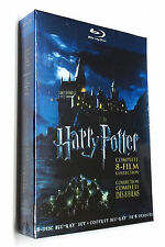 B| Harry Potter: Complete 8-Film Collection (Blu-ray, 2011, 8-Discs) Brand New!