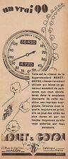 Y8634 Moto MONET & GOYON Superstandard - Pubblicità d'epoca - 1932 Old advert