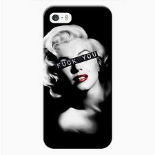 Cover per iPhone 6-6s Woman  fuck you monroe